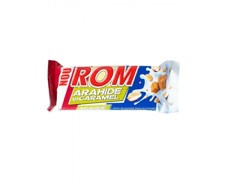 Chocolatina Autentic Ron con Cacahuetes y Caramelo