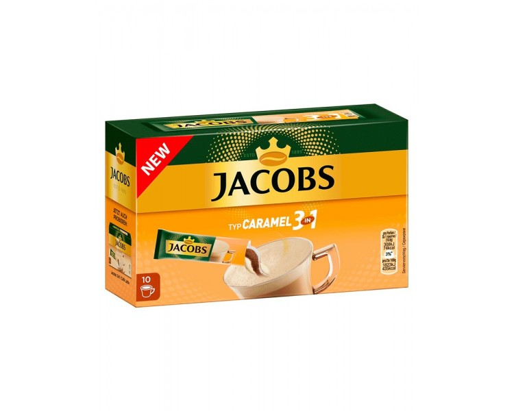 JACOBS 3IN1 CARAMEL 16.9G/10