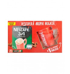 NESCAFE 3IN1 STRONG PACK TAZA 24*14G