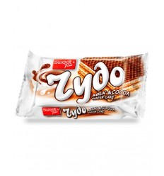 BUL SWEET ZYDO BARQUILLOS LECHE-CACAO 40G/24