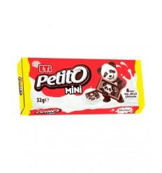 ETI PETITO MINI CHOCOLATE LECHE 32G*16/9