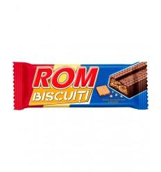 Chocolatina Autentic con Ron y Galletas