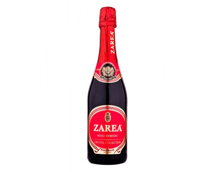 ZAREA CRYSTAL VIN SPUMANT ROSU DEMISEC 0.75L/6