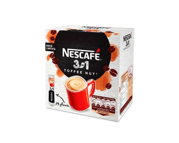 NESCAFE 3IN1 TOFFEE NUT 16G*24/10
