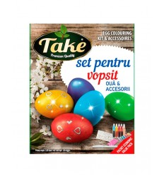 TAKE KIT PINTURA 120 HUEVOS PACK ACCESORIOS 20G/15