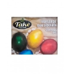 TAKE KIT PINTURA HUEVOS PERLADA 20G/10