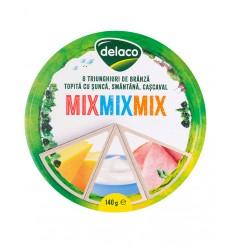 DELACO BRANZA TRIUNGHIURI MIX 140G/24