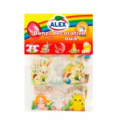 ALEX CINTAS DECORATIVAS DIBUJOS 4G/40