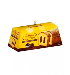 BOROMIR BIZCOCHO CHOCOLATE-RON CAJA 450G/4