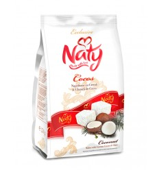 NATY BARQUILLOS COCO GLASEADOS 180G/9