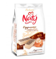 NATY BARQUILLOS CAPPUCCINO GLASEADOS 180G/9
