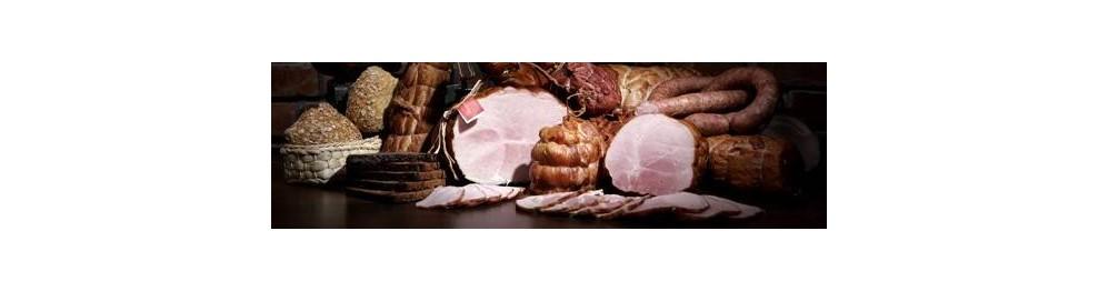 Productos cárnicos, de pescado y vegetales